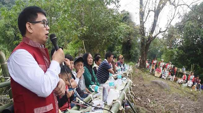 Arunachal: Maj announces  additional 10 lakh for MIC channel