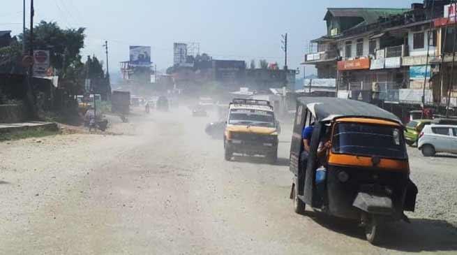 Itanagar:Carpeting on NH-415to begin by this month- Toli Basar