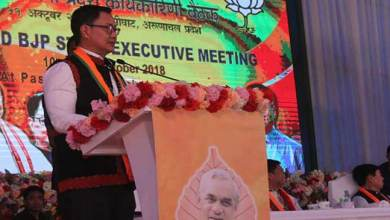 Photo of Arunachal: give place for party based politics instead of leader based- Pema Khandu