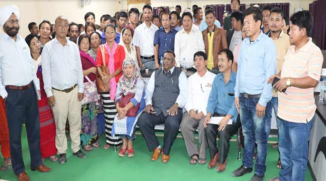 Itanagar: NCSK Member raised serious concern on the working of IMC