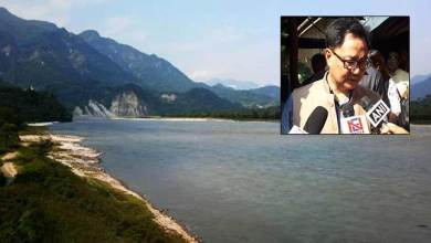 Photo of No harm to Arunachal on sudden release of water in Siang river from China – Rijiju