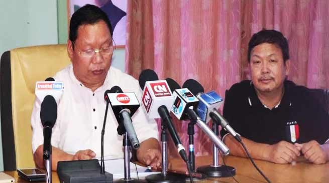 Arunachal:  Congress attacks BJP on several outstanding issue of state