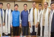 Photo of Arunachal: NRI business delegation meet CM Pema Khandu