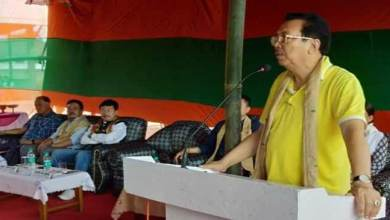 Arunachal: Mein projects Pema and Tapir as CM and Parliamentary candidates