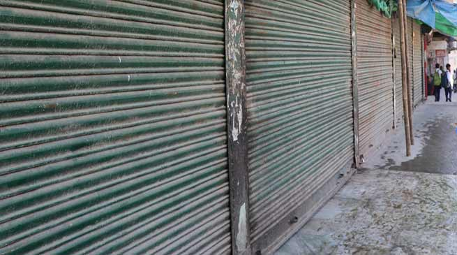 Itanagar: Traders continue to shutter down for 2nd day against eviction drive
