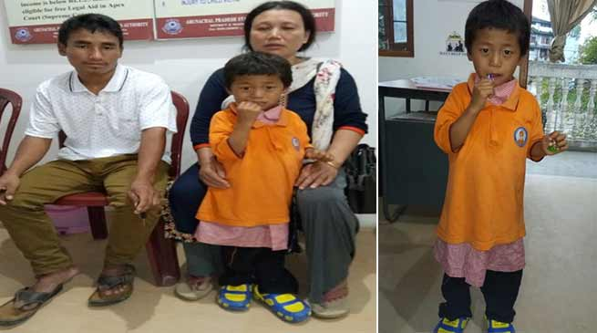 Itanagar: Missing boy reaches to parent, CWC appreciated