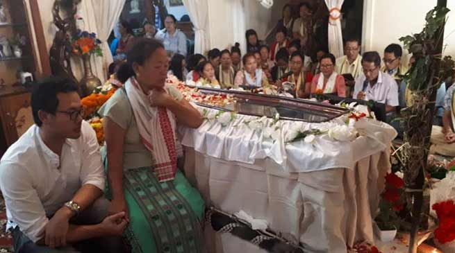 Arunachal: Hundreds paid homage to Late Neelam Nido