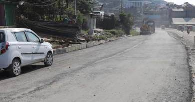 Itanagar : Carpeting on NH-415 begins
