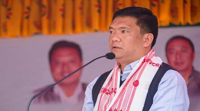 Arunachal CM warns CoSSAP: PR maybe imposed if employees go on strike