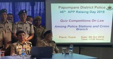 Arunachal: 46th AP Police Raising Day celebrated with Quiz Competition