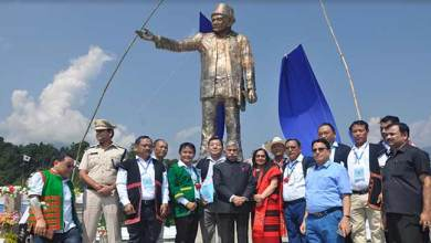Photo of Arunachal : Governor unveiled statue of Golgi Bote Late Talom Rukbo