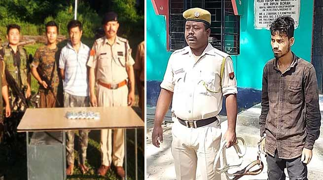 Arunachal: Two arrested in Wakro bank loot, and Girl trafficking case, money recovered & girl rescued