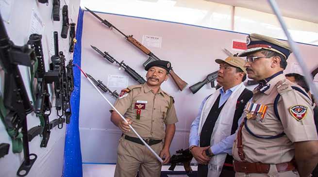 Arunachal CM attends 46th Raising Day of Arunachal Pradesh Police