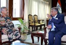 Photo of Arunachal: Army Commander calls on the Governor