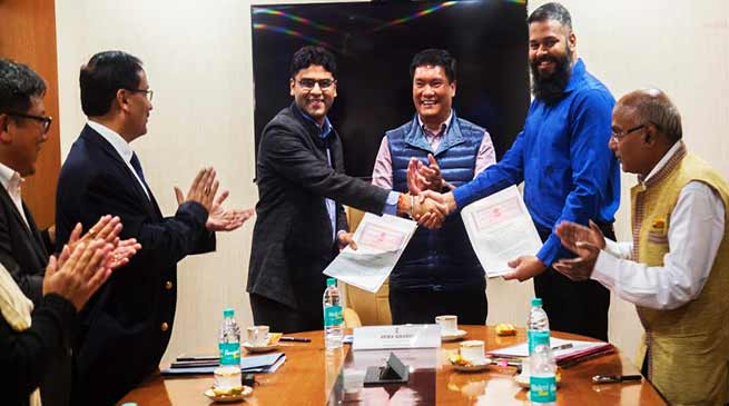 Arunachal: MoU for 'International Tribal Film Festival'