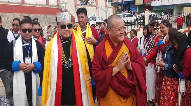 Arunachal: Guru Tulku Rinpoche kicks off Buddha Mahotsava in Bomdila