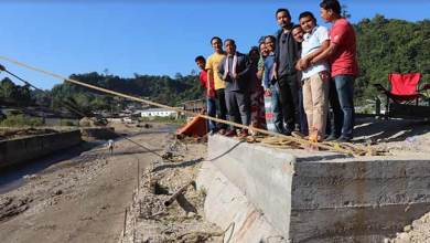 Photo of Itanagar: Kaso inspects ongoing projects in Nirjuli