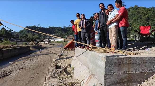 Itanagar: Kaso inspects ongoing projects in Nirjuli