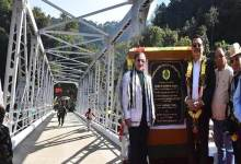 Photo of Arunachal: Mein inaugurates Steel Girder Bridge over river Panior