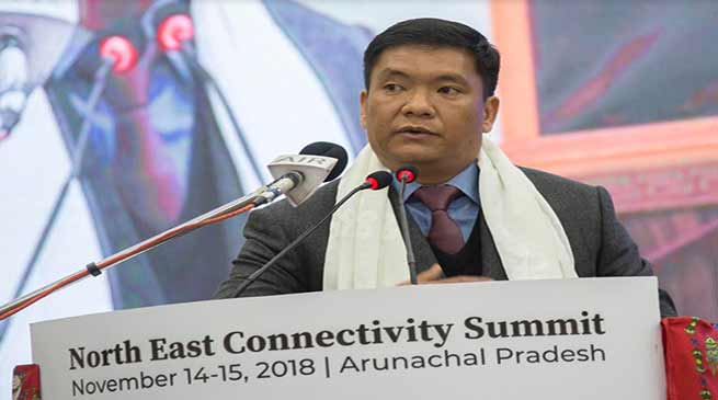Arunachal: Khandu inaugurates the 5th North East Connectivity Summit