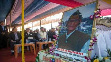 Photo of Arunachal: Late Nabam Runghi laid to rest with state honour