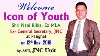 Photo of Arunachal: Apatani youths joins Ribia's 'Mission-2019'
