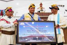 Arunachal CM Seeks support of Church in eliminating corrupt practices during election
