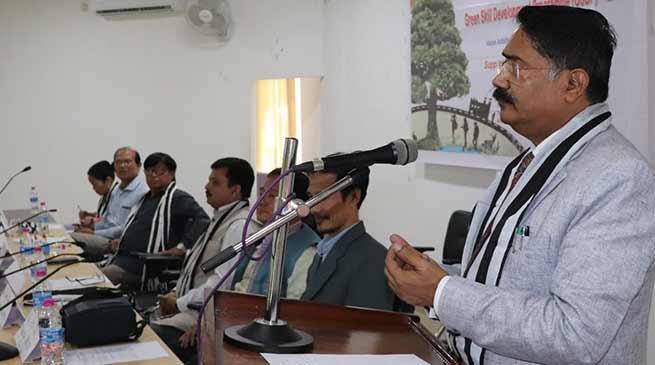 Arunachal: RGU VC emphasis on Skill Development