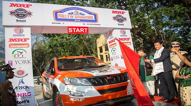Itanagar:  CM Khandu flags off 'Rally of Arunachal'