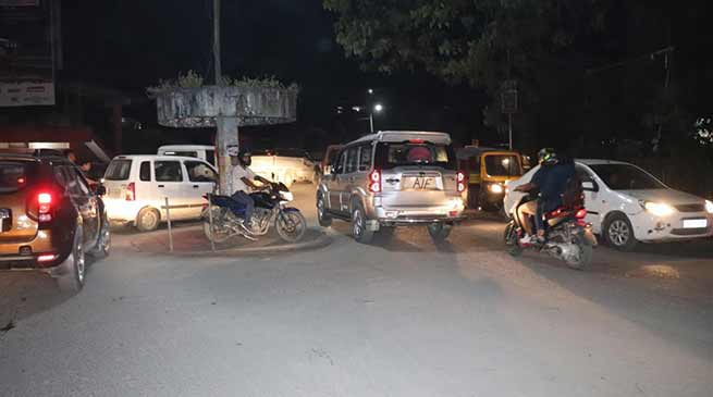 Itanagar: VIP vehicles violating traffic rules
