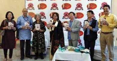 Itanagar: Book released at Arunachal LIT festival