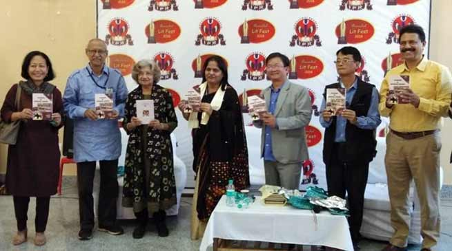Itanagar: Book released at Arunachal LIT festival