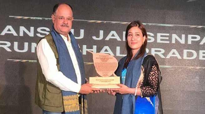 Dr Anshu Jamsenpa honoured with 'Eastern Himalayan Global Environmental Ambassador'