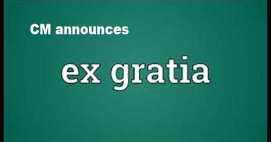 Arunachal: CM announces ex-gratia Rs 4 Lakh to each