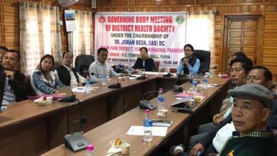 Photo of Arunachal: district hospital at Doimukh to be functionalise immediately- DC Papum Pare