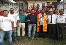 Photo of Itanagar: Media fraternity gives farewell to UNI Reporter Partha Bhowmick
