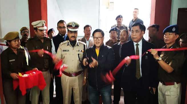 Arunachal:Kumar Waii inaugurates Women Police Station at Seppa in East Kameng dist