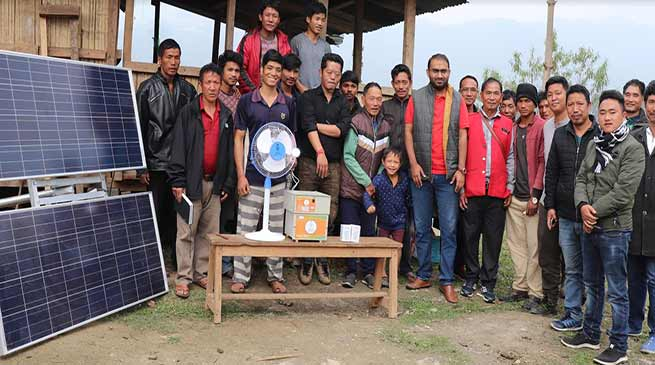 Arunachal:  use solar lighting system properly- DC Seppa