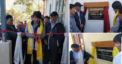 Arunachal: Tashi inaugurates health sub-centres at Kharteng and Mangnam
