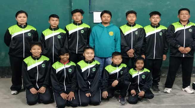 Itanagar:A Feather on HIM's crown , 2 student selected TT national tournament