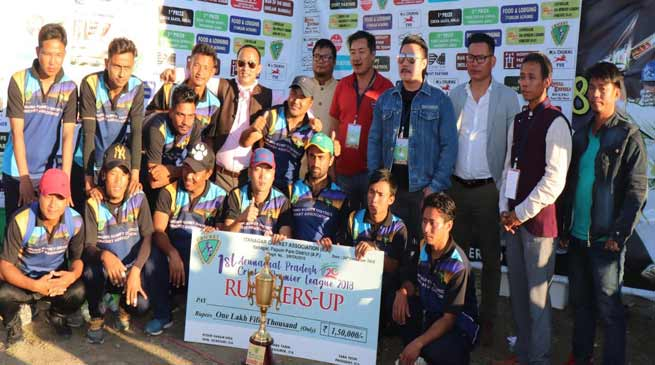 Itanagar: Yomgo Yorkers lift the 1st Arunachal Pradesh T20 Cricket Premier League-2018