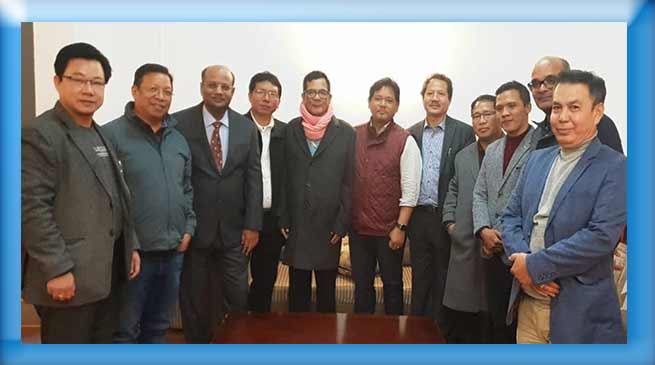 NPP discussed Arunachal Political Scenario