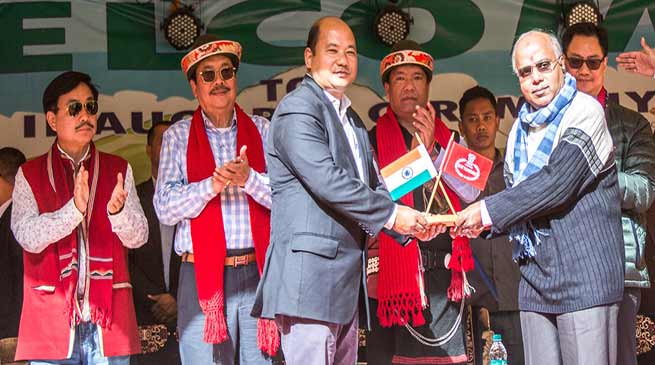Arunachal CM inaugurates Shi Yomi, the new district of state