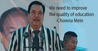 Arunachal: We need to improve the quality of education- Chowna Mein