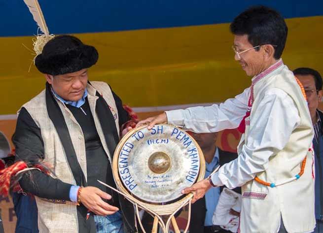 Arunachal Rising campaign day-3: Khandu reaches Changlang, Deomali