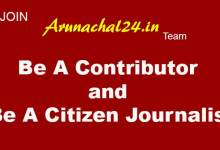 Photo of Join Arunachal24 team- Be a Citizen Journalist, Be A Contributor