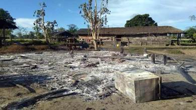 Photo of Arunachal:  3 houses burnt to ashes in Medo