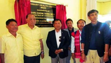 Photo of Arunachal: PHC inaugurated at Medo