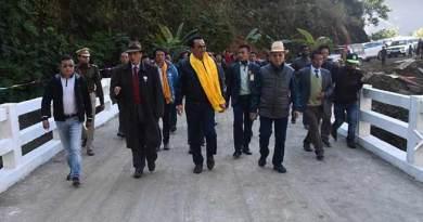 Arunachal: Chowna Mein inauguratesRCC Deck Steel Bridges in Siang