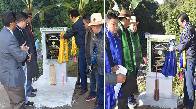 Arunachal: Chowna Mein inaugurates RCC Deck Steel Bridges in Siang
